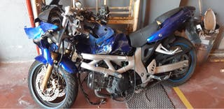 Siniestro Suzuki Sv 650 28.000 kms