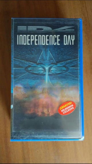 peliculas de video VHS Independence Day