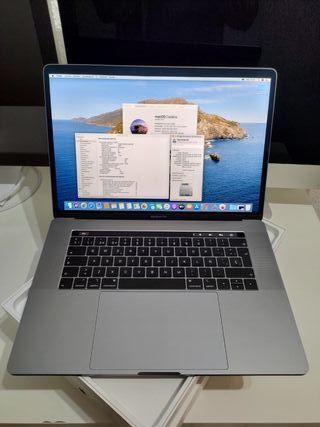 MacBook Pro 15 Touch 2018. Garantía.