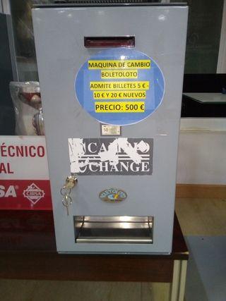Maquina de cambio