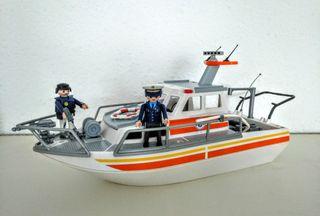 "Playmobil ""Barco de rescate"""