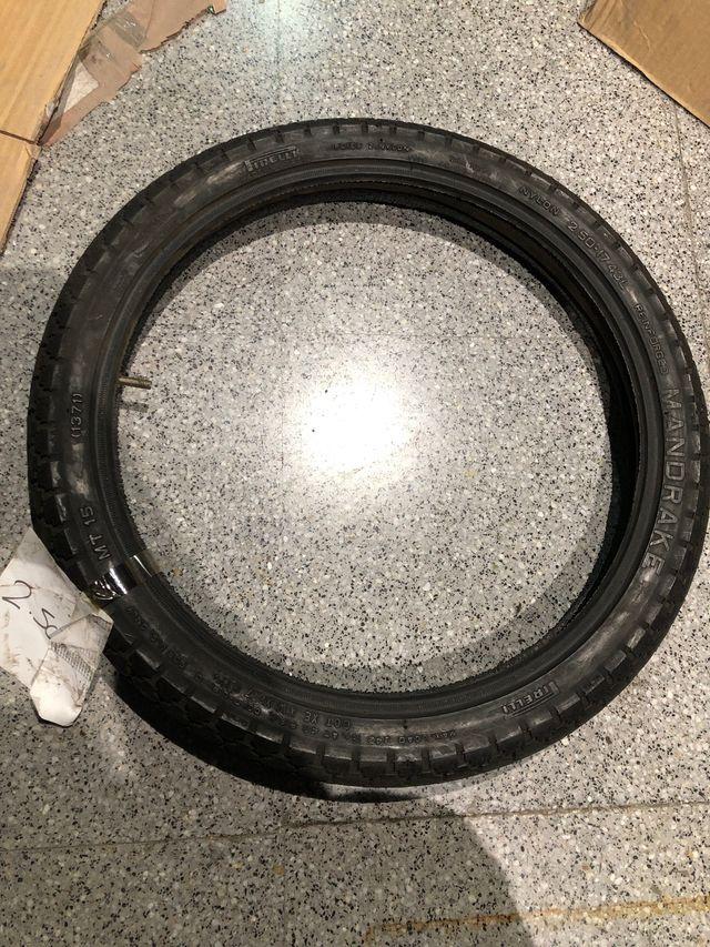 Neumático 2.50-17 43L MANDRAKE MT15