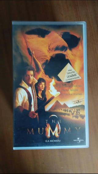 peliculas de video VHS LA Momia