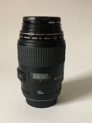 Objetivo Canon 100mm 2.8 macro EF