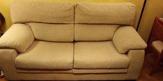 Sofá 2 plazas asientos deslizantes