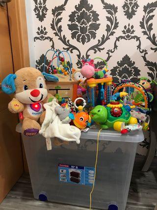 Lote juguetes en perfecto estado