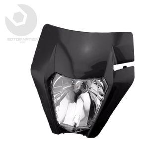 Faro delantero negro KTM EXC/EXC-F 17-19 (DOT E9)