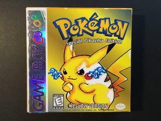 Pokemon Yellow Version Special Pikachu Edition