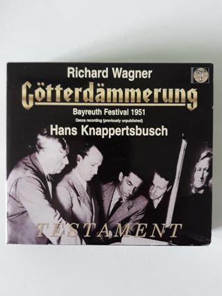 El ocaso de los dioses, Richard Wagner. Hans Kna