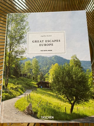 Libro Great Escapes Europa Taschen nuevo