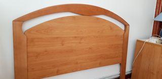 Cabecero madera 135cm