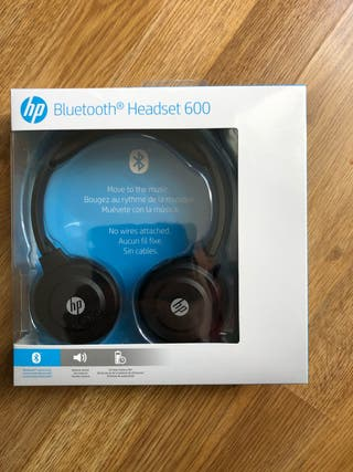 auriculares HP 600 bluetooth headset