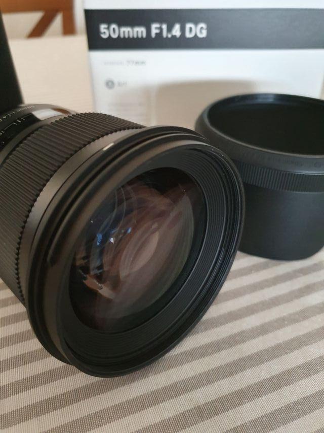 Objetivo Sigma 50mm 1.4 ART Nikon