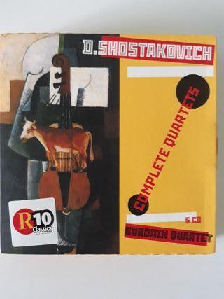 Cuartetos de cuerda, D. Shostakovich. Borodin