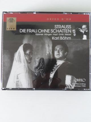 La mujer sin sombra, Richard Strauss. Karl Bohm