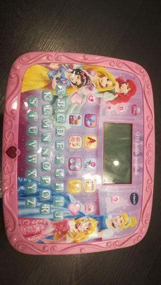 Tablet juguete Princesas