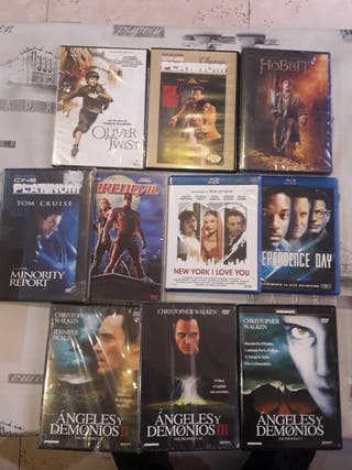 Pack Dvd y Blu-ray