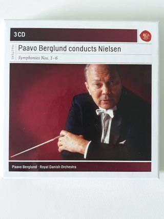 Sinfonías, Carl Nielsen. Paavo Berglund