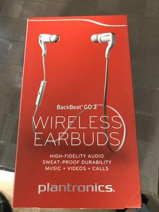 Auriculares inalámbricos plantronics backBeat go 2