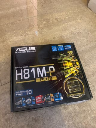 Placa Base Asus H81M-P Plus