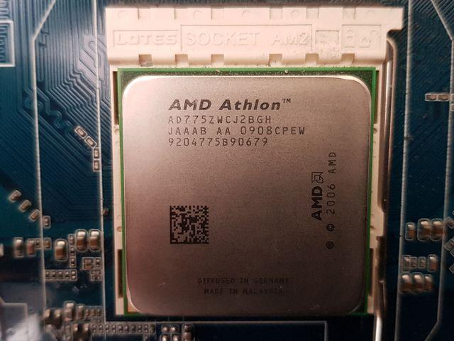 Placa Base GIGABYTE + RAM + AMD