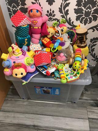 Lote de juguetes en perfecto estado
