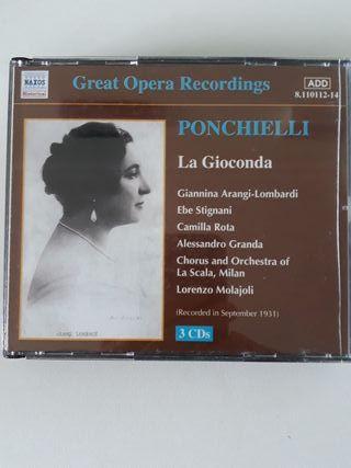 La Gioconda, Amilcare Ponchielli. Lorenzo Molajoli