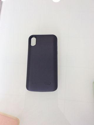 Funda cargador iPhone XR