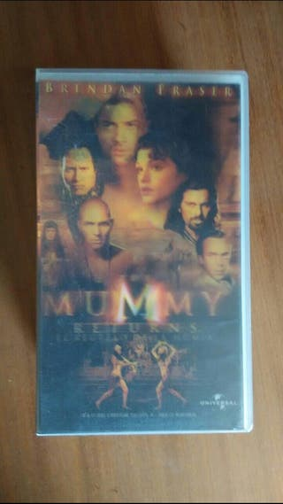 peliculas de video VHS LA Momia 2