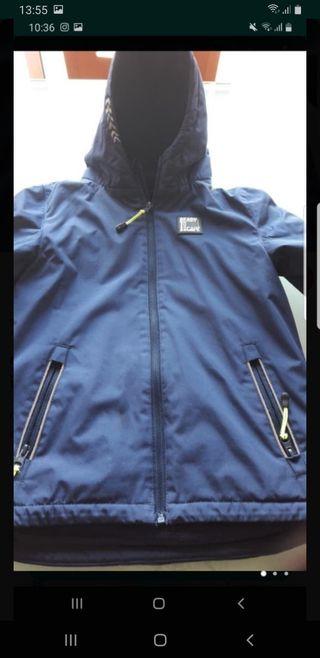 chaqueta talla 7a8 azul marino para invierno calen