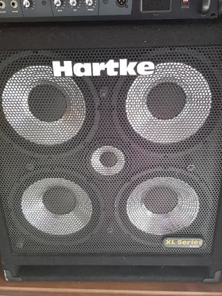 Amplificador de bajo y cabezal (HARTKE)