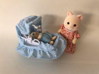 Muñecos Sylvanian Families -El recién llegado
