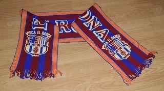 Bufanda Vintage Fútbol Club Barcelona 1994/1995