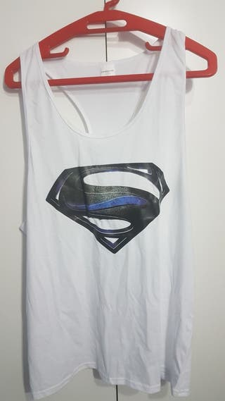 Camiseta tirantes Gym Superman L