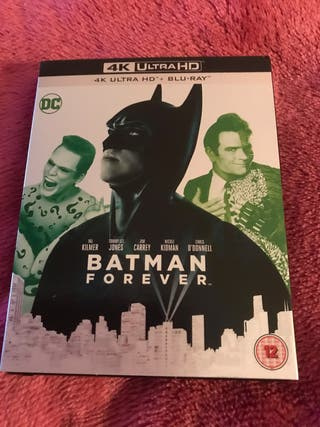 New Batman Forever 4K Blu Ray