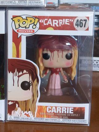 Carrie, Gargamel, Freddy y The Crow Funko Pop