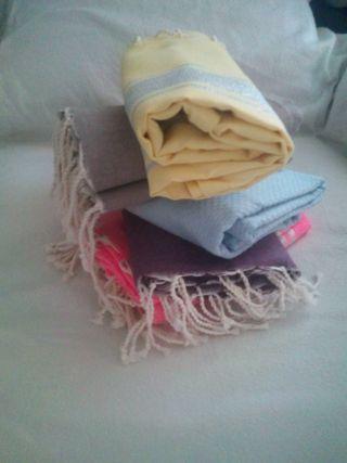 foutas ou jeté de lit neuf 100 %coton 1x2m