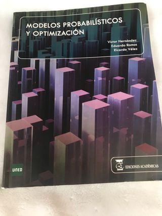 Libro Modelos Probabilisticos y Optimizacion