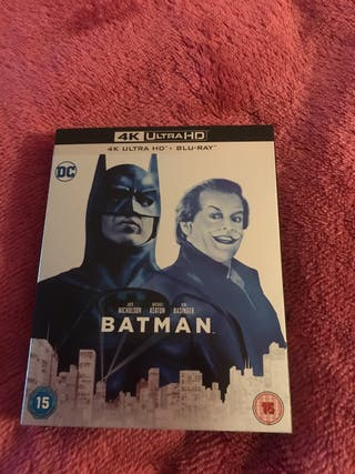 New Batman 4K Blu Ray
