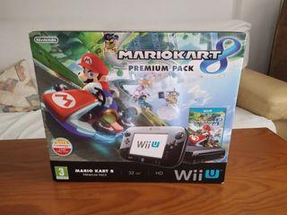Wii U Premium pack 32GB + Juegos