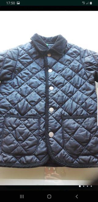 chaqueta de benetton en color marino unisex talla