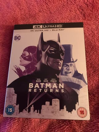 New Batman Returns 4K Blu Ray