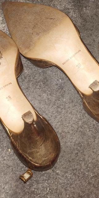 zapatos/tacones/sandalias varias