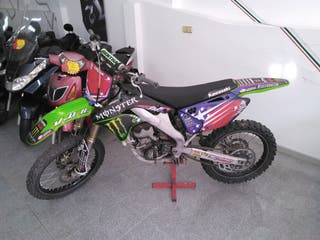 Kawasaki kx 250f 2008