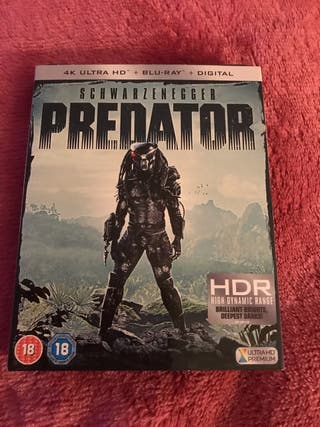 New Predator 4K Blu Ray