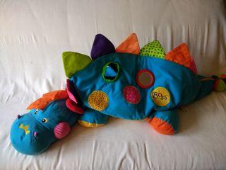 Maxi dinosaurio de peluche con bolas de colores