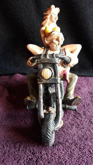 Figura moto custom