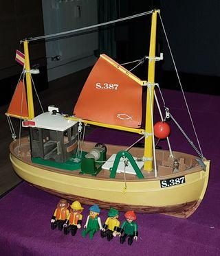 Playmobil barco pesquero Susanne 3551
