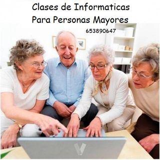 Clases de informática para persona mayores redes