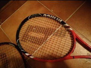 Raqueta tenis más funda